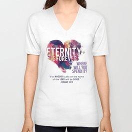 Eternity is Forever Unisex V-Neck