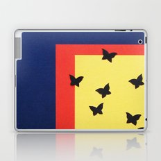 Butterfly Squares Papercut Laptop & iPad Skin