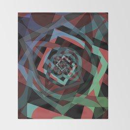 Celtic Droste Pattern Throw Blanket