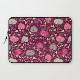 Fancy Floral Laptop Sleeve