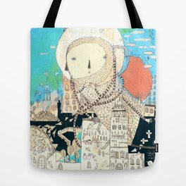 Logic will get you from A to B. Imagination will take you everywhere. Tote Bag