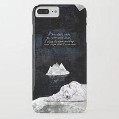 Polar Bear iPhone 7 Plus Slim Case