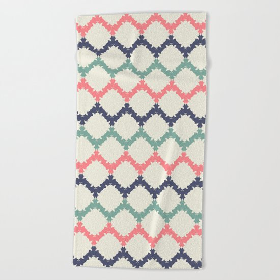 Thinking About Azulejos Beach Towel