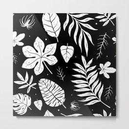 white foliage Metal Print