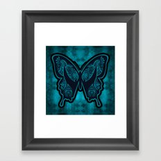 Henna Butterfly No. 6 Framed Art Print