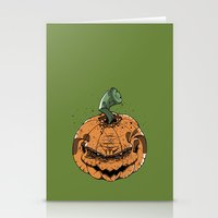 pumpkin Stationery Cards featuring Pumpkin by Kape