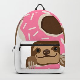 Because Sloths AND Donuts Backpack