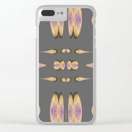 Found Pieces Golden Luxury Week Thursday Clear iPhone Case