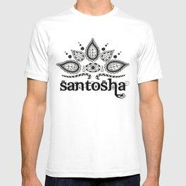 Santosha B&W T-shirt