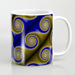 Blue Swirls Coffee Mug