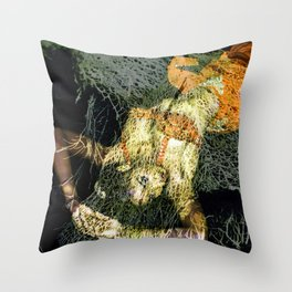 CORAL Oriental Throw Pillow