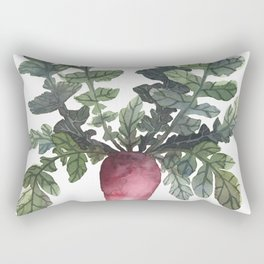 Beetroot Rectangular Pillow