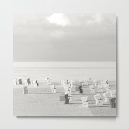 Sea side Metal Print