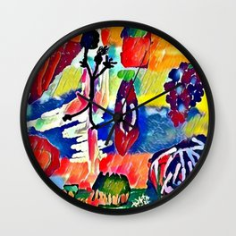 Cultivation Wall Clock