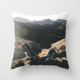 Warrumbungles Sunrise III Throw Pillow