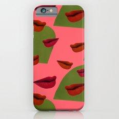 retro lips (2) iPhone 6s Slim Case