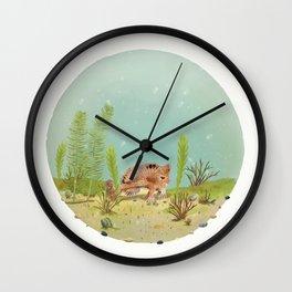 Spotted handfish (Brachionichthys hirsutus) Wall Clock