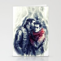 sterek Stationery Cards featuring sterek III by AkiMao