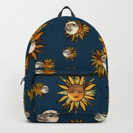 Sunflower Eclipse Backpack