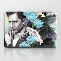 tom selleck iPad Cases featuring Tom Hiddleston by Yan Ramirez