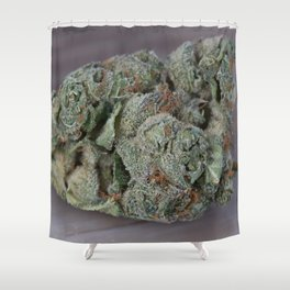 Dr. Who Medicinal Medical Marijuana Shower Curtain