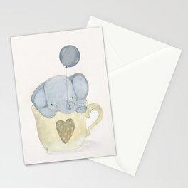 little elephant Stationery Cards