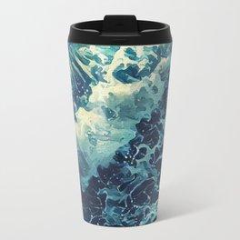 Every tide hath its ebb Travel Mug