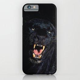 Black Leopard (Panther) iPhone Case