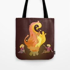Campfire Magic Tote Bag