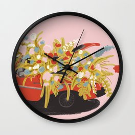 Junk In The Trunk Wall Clock