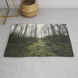Unknown Road - landscape photography Rug