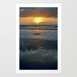LA FLA Sunrise Art Print