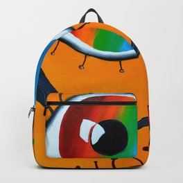 The Colorful Unseen Organisms Backpack