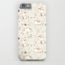 Blossom Bunny iPhone Case