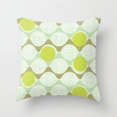 snaking around Throw Pillow