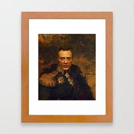 Christopher Walken - replaceface Framed Art Print