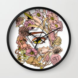 Hidden Beauty Wall Clock