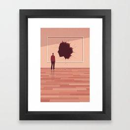 The Missing Portrait Framed Art Print