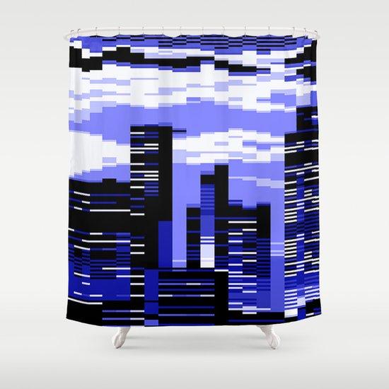 Curtains Ideas cityscape shower curtain : pxl cityscape Shower Curtain by Vividvivi | Society6