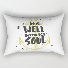 It is Well With My Soul Rectangular Pillow