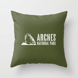 Arches National Park, Utah: Delicate Arch Throw Pillow