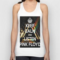 floyd Tank Tops featuring Pink Floyd by Iotara