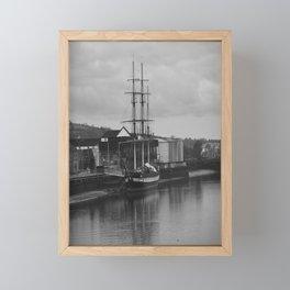 Famine Ship Dunbrody Framed Mini Art Print
