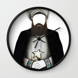 "MUHAMMAD      ""The Planet Earth Awards, Beyond Superstition"" Wall Clock"