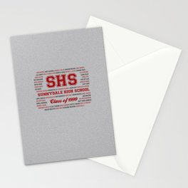 Sunnydale High School - Class of 1999 Stationery Cards