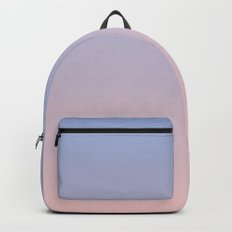Ombre | Serenity and Rose Quartz | Pantone Colors of the Year 2016 Backpack
