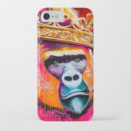 KING--GORILLA iPhone Case