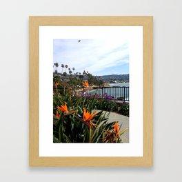 Heisler Park Afternoon Framed Art Print