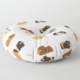 Guinea pigs Floor Pillow