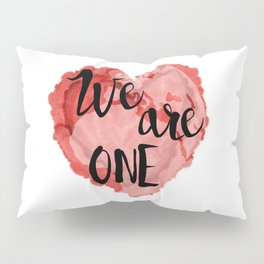 We Are One -Global Community Pillow Sham